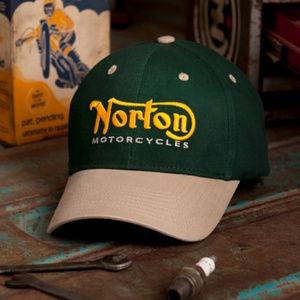 Norton Hat Cap Embroidered - NEW